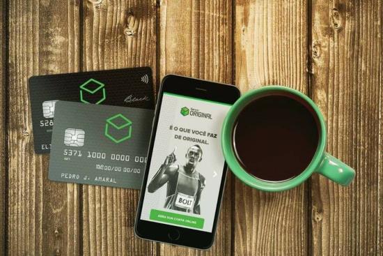 Banco Original aplicativo e cartão