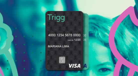 Cartão black da Trigg Visa
