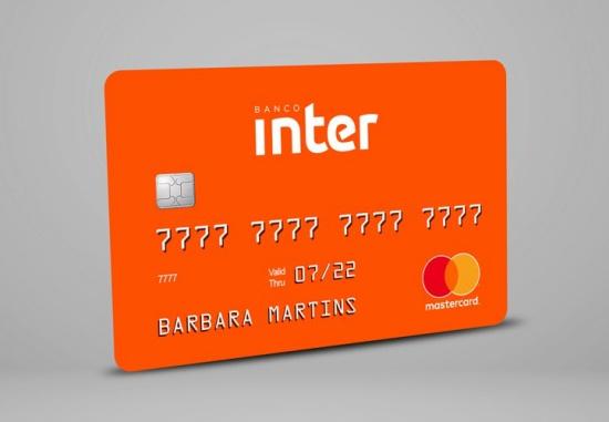 cartão do banco inter laranja