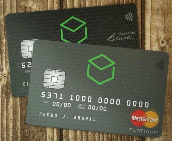cartão platinum e black do banco original