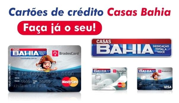 emitir 2ª Via da Fatura do Cartão Casas Bahia