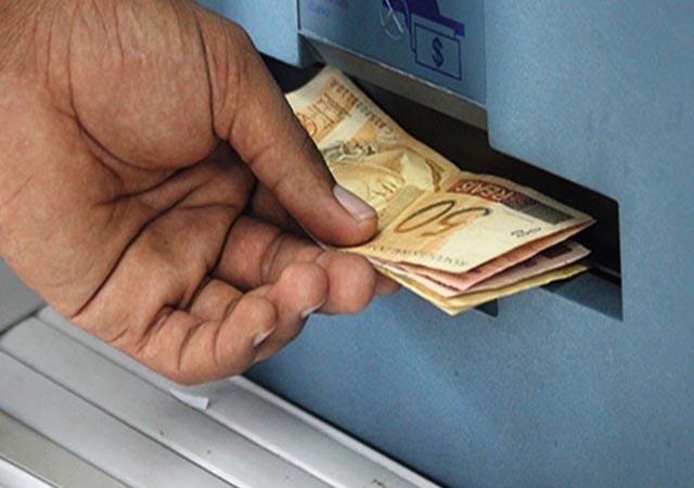 sacar dinheiro na Caixa