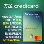Cartão Credicard Zero para negativos? Aceita nome sujo?