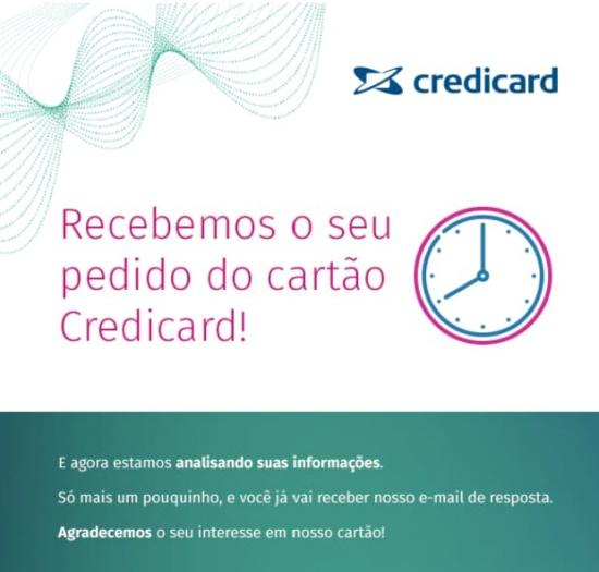 Parcelamento de fatura no cartão Credicard