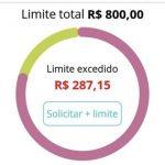 Qual o limite inicial do cartão Santander Free (Limite Mínimo)