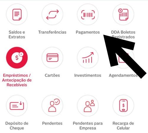 Pagar Boletos e Contas no aplicativo Bradesco