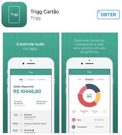 Aplicativo Trigg na play store