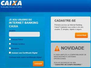 internet banking caixa