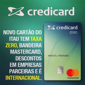 Credicard Zero para negativados