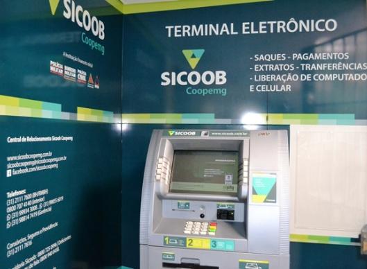 Limite de saque no Caixa Eletrônico Sicoob